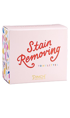 Stain Removing Towelettes Pinch Provisions $8