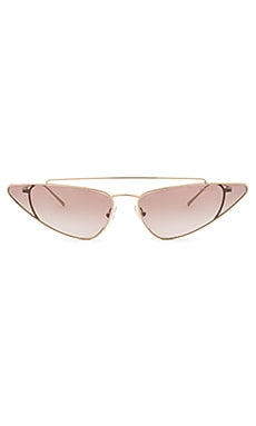 Ultravox Metal Cat Eye Prada $440