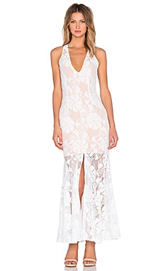 Premonition Fleur Maxi Dress in White