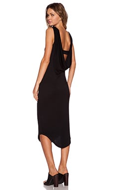 Premonition Flume Dress in Black