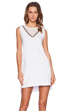 Premonition Believe What You See Dress in White
