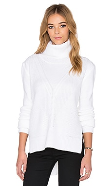 Premonition The Imperial Sweater in White