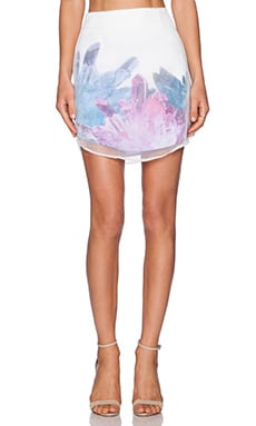 Premonition Crystal Ice Skirt in Multi