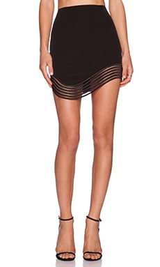 Premonition Devotion Skirt in Black
