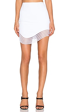 Premonition Devotion Skirt in White