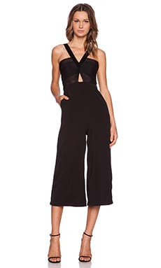 Premonition Casablanca Jumpsuit in Black