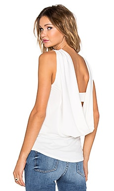 Premonition Flume Top in White