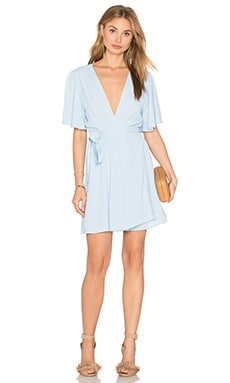 Privacy Please Frisko Dress in Pale Blue