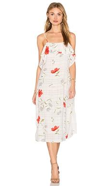 Privacy Please Hiland Dress in White