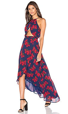 Batelle Dress in Navy