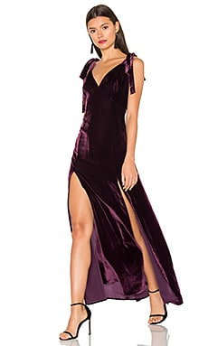 Jupiter Dress in Wine