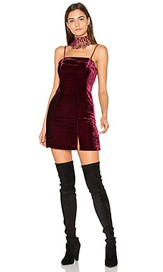 Judson Dress in Wine