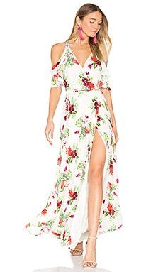 x REVOLVE Acme Dress in White Floral