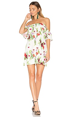 x REVOLVE Norval Dress in White Floral