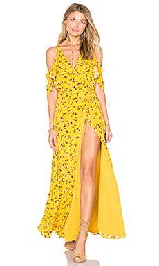 x REVOLVE Acme Dress in Mustard