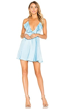 x REVOLVE Sigsbee Dress in Sinatra Blue