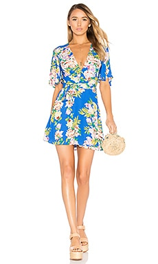 x REVOLVE Brisco Dress in Blue