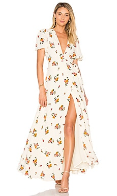 Plaza Kimono Dress in Creme