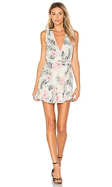 x REVOLVE Ryan Dress in Purple Floral