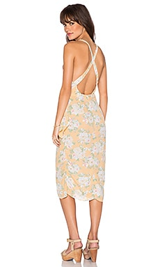 Privacy Please Nassau Wrap Dress in Flore