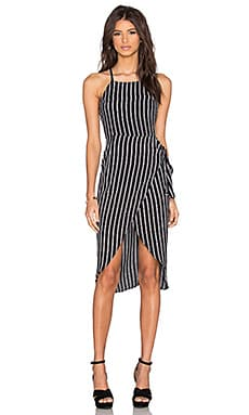 Nassau Wrap Dress in Maverick