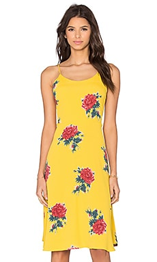 Privacy Please Shore Dress in Canary