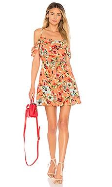Мини платье с открытыми плечами troy - Privacy Please