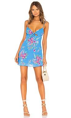 Мини платье без рукавов cabana - Privacy Please, Платья -комбинации, Китай, Синий  - купить со скидкой