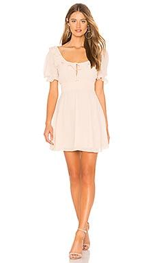 Купить Мини платье kristina - Privacy Please цвет беж