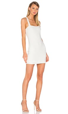 Bradian Dress in Ivory