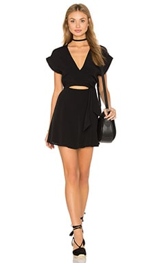 Privacy Please Tilla Dress in Black