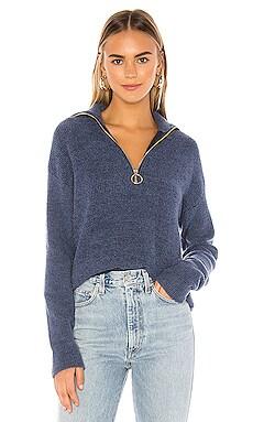 Harvey Zip Up Sweater Privacy Please $125
