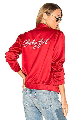 x REVOLVE Boulevard Bomber in Red