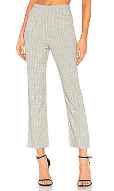 Укороченные брюки baldwin - Privacy Please, Желтый, Строгий стиль