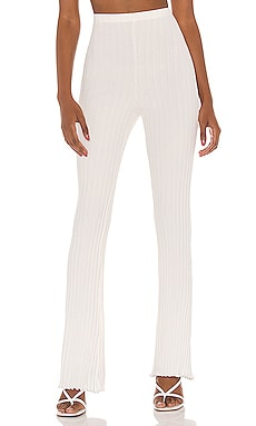 Ribbed Flare Pant Privacy Please $128