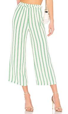 Укороченные брюки с высоким поясом rosa - Privacy Please