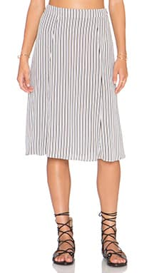 Privacy Please Lafayette Midi Skirt in Federal