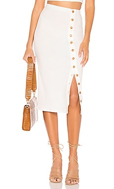 Renee Midi Skirt Privacy Please $98