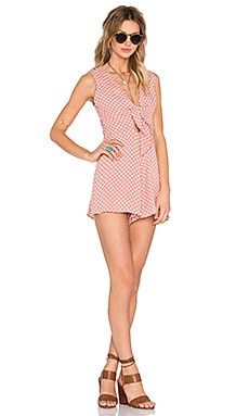 Privacy Please Rivington Romper in Yvonne