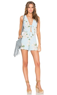 Privacy Please Rivington Romper in Gramont