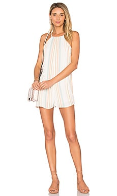 Lucca Romper in Multi Stripe