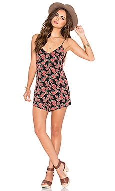 Privacy Please Felicity Romper in Rosette