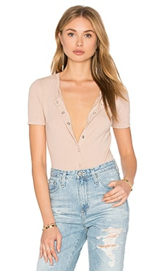 Privacy Please Dunwell Bodysuit in Nude