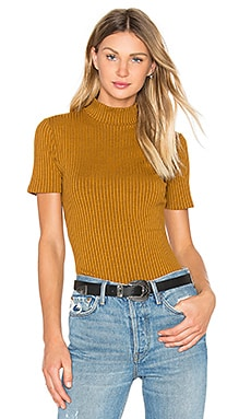 Privacy Please Dellwood Top in Camel