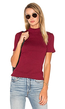 Dellwood Top in Bordeaux