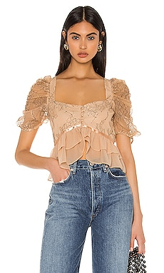 TOP MANGA CORTA MARLENE Privacy Please $120