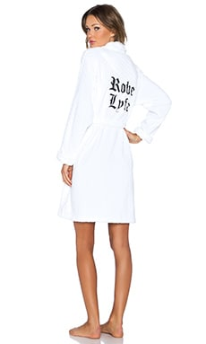 Private Party Robe Lyfe Robe in White