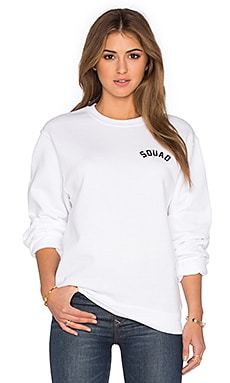 Private Party Squad Sweatshirt in White