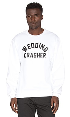 Private Party x REVOLVE Wedding Crashers Unisex Pullover in White