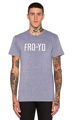 Private Party Fro Yo Tee in Grey